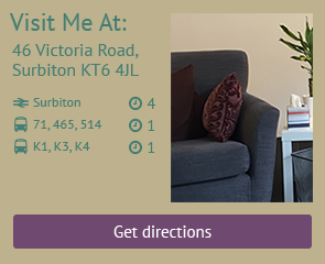 visit me in my Surbiton Therapy Rooms